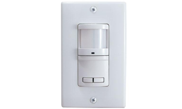 Gentec GENWSPD1277C Dual Circuit, PIR, Wall Switch Occupancy Sensor ...